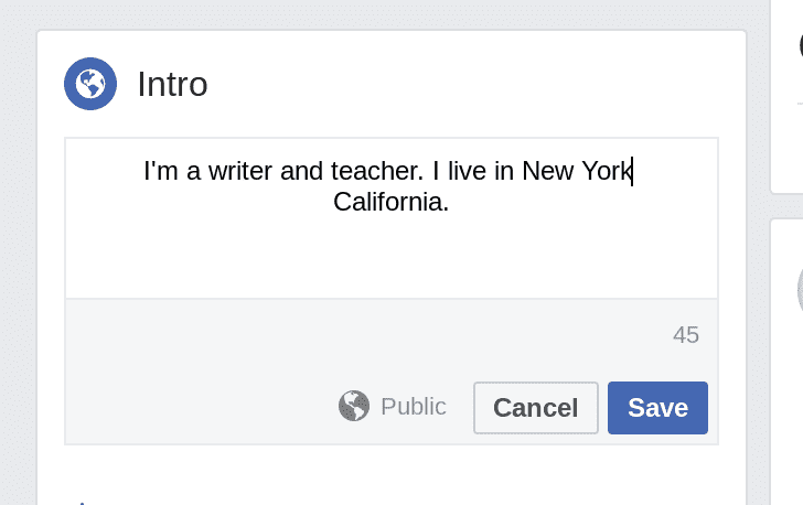 fb strikethrough bio 1