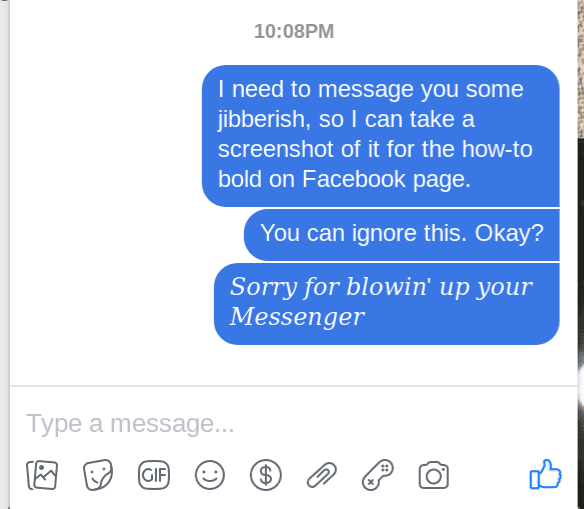 fb messenger italics 4